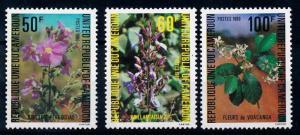 [64967] Cameroon Cameroun 1980 Flora Flowers Blumen  MNH
