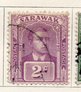 Sarawak 1928 Early Issue Fine Used 2c. 050877