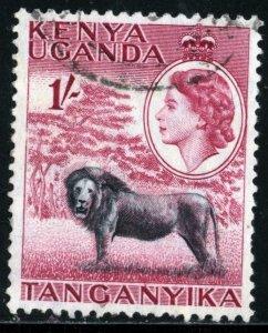 KENYA-UGANDA-TANGANYIKA #112- USED - 1954 - KENYAUGATANG005