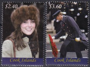 Cook Islands #1355-6  MNH  CV $9.25 (Z1432)