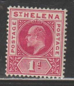Saint Helena SC  49  Mint  Hinged