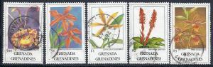 Grenada Grenadines #1262-1265,1267  (U) CV $11.05