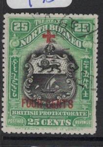 North Borneo SG 247 VFU (8dpm)