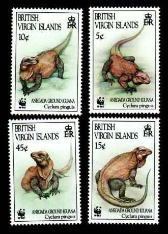 British Virgin Islands 791-794 Mint NH MNH WWF!
