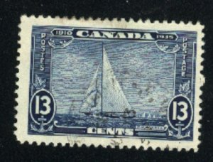 Canada #216   used   VF  PD