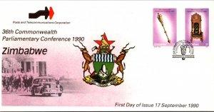 Zimbabwe, Worldwide First Day Cover
