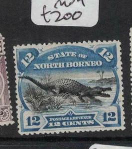 North Borneo SG 106 MOG (4duy)
