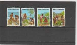 Papua New Guinea MNH 332-5 Primary Industries