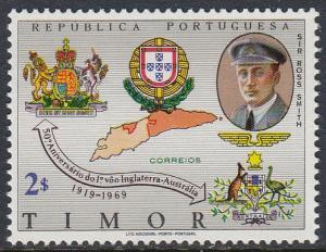 Timor 340 MNH - England to Australia Flight
