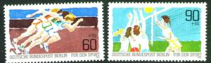 Germany Berlin Occupation Scott 9NB191-92 MNG 1982