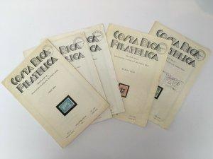 Costa Rica Filatelica x 5 Editions 1974-76