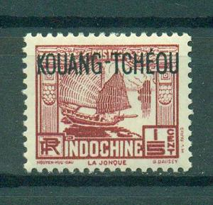 French Offices in China Kwangchowan sc# 100 mnh cat value $.30