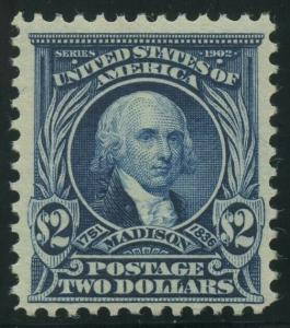 #312 $2 1903 MINT OG NH WITH PSE CERT CV $3,250 WLM8144