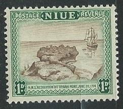 Niue | Scott # 95 - MH