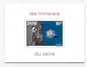 Zaire 1983 Minerals Diamonds Sc 1110 MNH Bo21