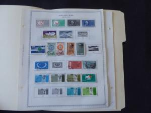 Ireland 1963-1969 Stamp Collection on Album Pages