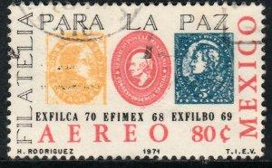 MEXICO C385 EXFILCA'70 Interamerican Phil Exh. Used.VF. (1189)