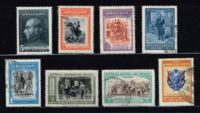 URUGUAY Stamp USED STAMPS COLLECTION LOT #1