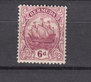 J26614  JLstamps 1910-24  bermuda mh #47 wmk 3 ship light small # on reverse
