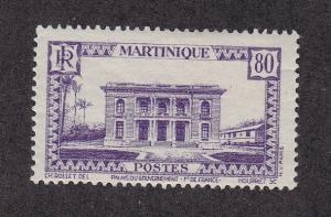Martinique Scott #153 MH