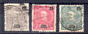 Cape Verde 41-43 used