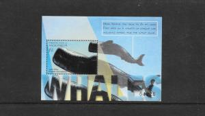 WHALES - MICRONESIA #419 MNH
