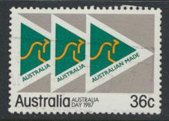 SG 1045  SC# 1010  Used  - Australia Day