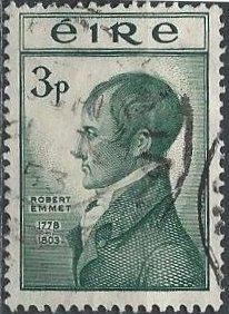 Ireland 149 (used) 3p Robert Emmet (1953)