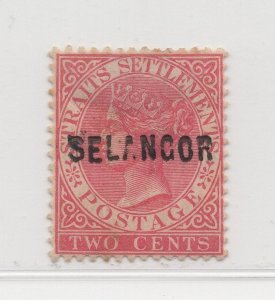 Malaya Selangor - 1883-85 - SG29 - 2c - MH #537