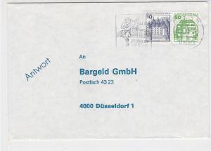 Germany 1982 Berlin Runner Outside Stadium Slogan Cancel Stamp Cover Ref 29189