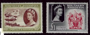 Southern Rhodesia #93 & #94 Mint F-VF SCV$50.00...Such a Deal!