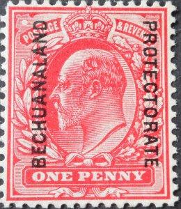 Bechuanaland 1904 EVII 1d SG 68 mint