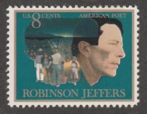 USA stamp, Scott# 1485, MNH, Robinson Jeffers, big stamp, Poet, writter,  MX67