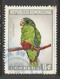Dominican Republic 597 VFU BIRD Z914-1