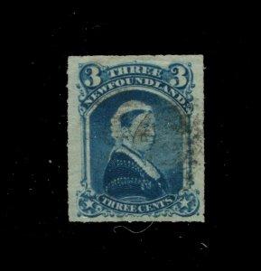 Newfoundland #39 SG 42 U F/VF 3c 1876-1879 Is. [N4039] CV=$15.00