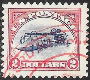 US 4806 Used - $2 Inverted Jenny