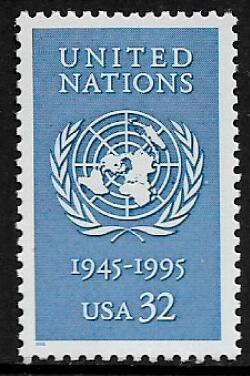 United States #2974 MNH Stamp - United Nations 50th Anniversary