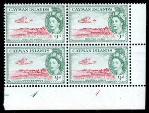 Cayman Islands - Scott #144 - Blk/4 - MNH - Some light creasing - SCV $34
