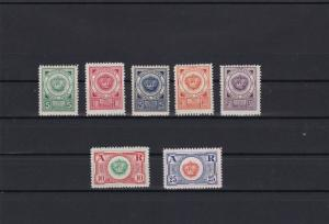 montenegro 1921  government in exile mint never hinged stamps ref r11728