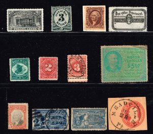 US STAMP BOB REVENUE STAMPS COLLECTION LOT