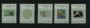 New Zealand: 2005,150th Anniversary of New Zealand Stamp (3), MNH set