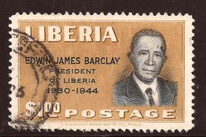 Liberia  # 327  used