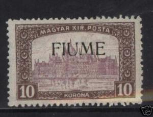 Fiume #20 VF Mint