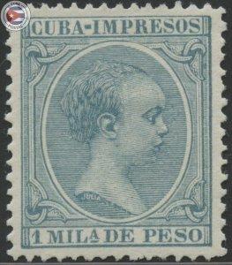 Cuba 1896 Scott P26 | MNH | CU18148
