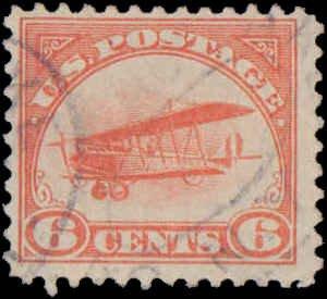 United States #C1, Complete Set, 1918, Used