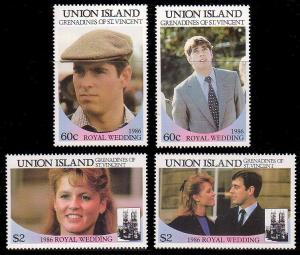 St. Vincent Grenadines  - Union Island 228 - 229 MNH