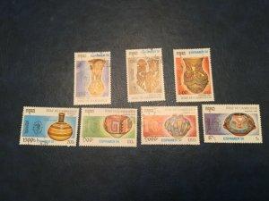 ICOLLECTZONE Cambodia #1159-65 XF Used Pottery (Bk1-30)