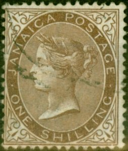 Jamaica 1906 1s Brown SG53 Good Used