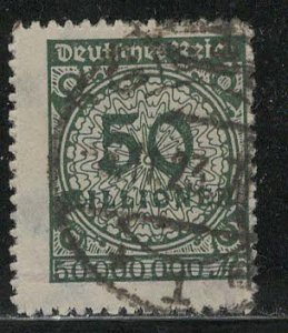 Germany Reich Scott # 303, used, exp h/s