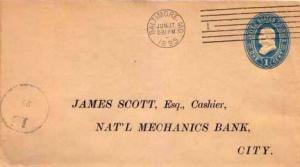 United States, Postal Stationery, Maryland